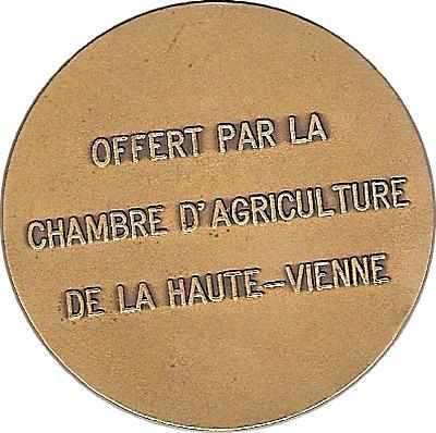 Medailles jetons haute vienne - Chambre d agriculture 54 ...
